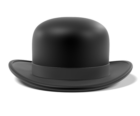 bowler hat: 3d renderings of bowler hat