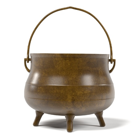 alchemy: 3d renderings of alchemy pot