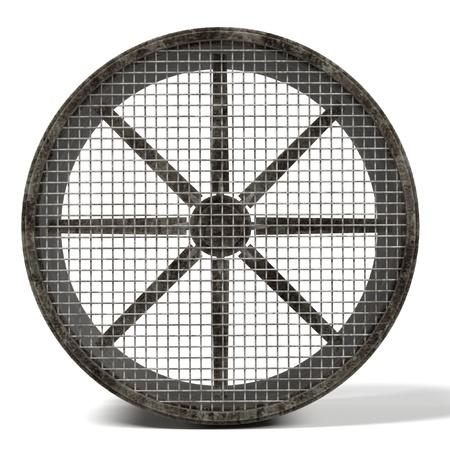 renderings: 3d renderings of large fan