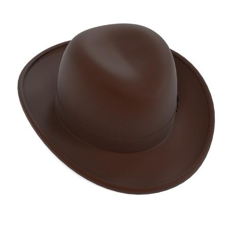 renderings: 3d renderings of homburg hat
