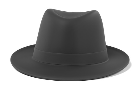 renderings: 3d renderings of trilby hat