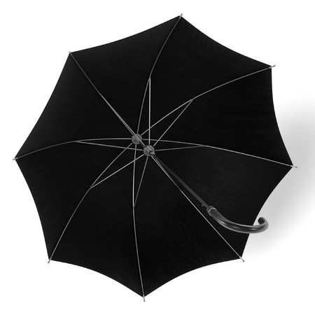 brolly: realistic 3d render of umbrella Stock Photo