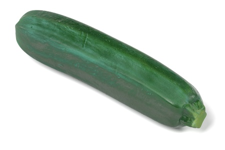 realistic 3d render of courgettte Stock Photo