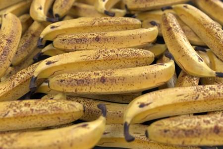 realistic 3d render of banana Stock Photo
