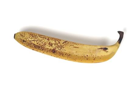 realistic 3d render of banana Stock Photo