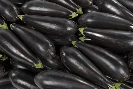 realistic 3d render of eggplant