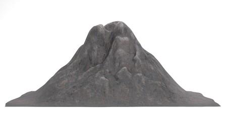 Realistic 3D Render of Volcano