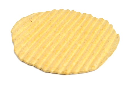Realistic 3D Render of Potato Chip Stock Photo