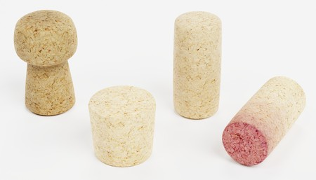 Realistic 3d Render of Corks Collection