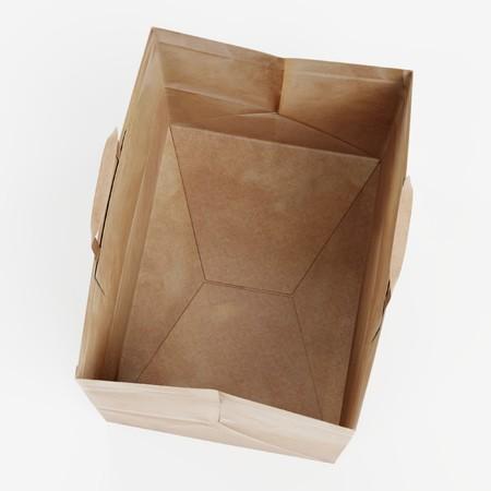 Realistic 3D Render of Paper Bag