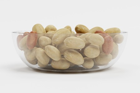 Realistic 3D Render of Peanuts