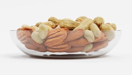 Realista 3d de frutos secos colección Foto de archivo - 100137473