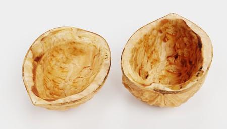 Realistic 3D Render of Walnut