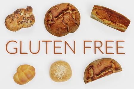 Realistic 3D Render of Gluten Free Food