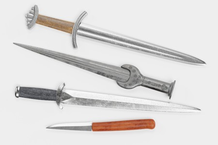 Realistic 3d Render of Viking Daggers
