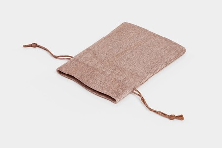Realistic 3D Render of Jute Bag