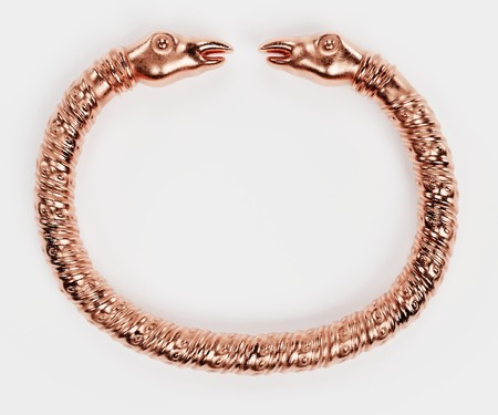 Realistic 3D Render of Viking Bracelet