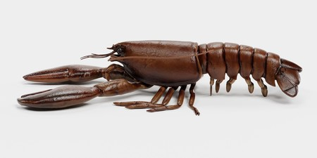 Realistic 3D Render of Lobster Stock Photo