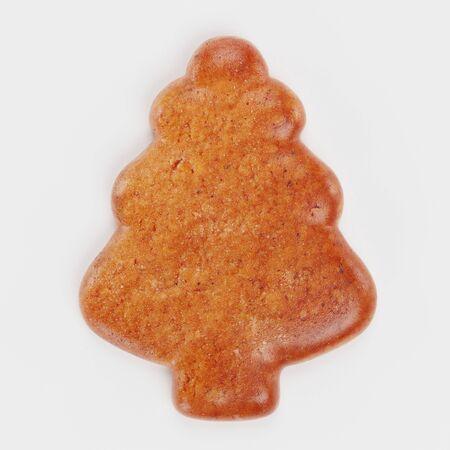 Realistic 3D render of Gingerbread Tree Reklamní fotografie