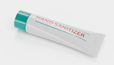 Realistic 3D render of Hand Sanitizer