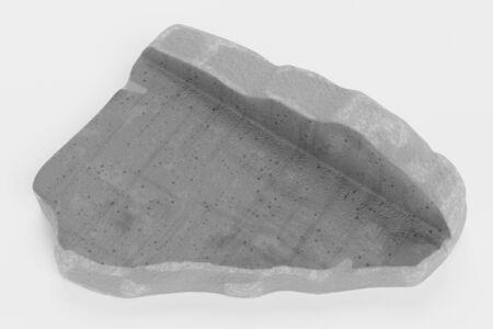 Realistic 3D render of Concrete Debris Piece