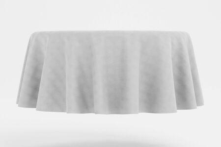Realistic 3D Render of Tablecloth