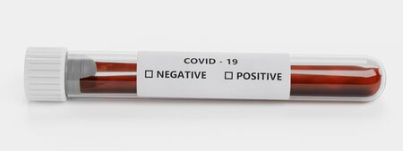 Realistic 3D Render of Test Tube - Covid-19 Test