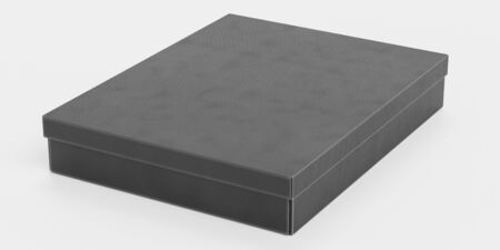 Realistic 3D Render of Chocolate Box