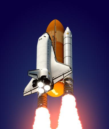 Ruimteschip Stockfoto