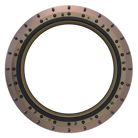 Spacecraft Porthole  3D Model