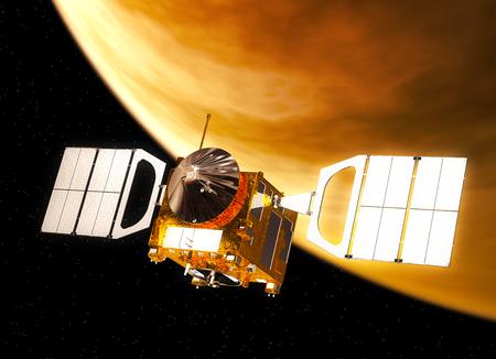 soyuz: Interplanetary Space Station Orbiting Venus