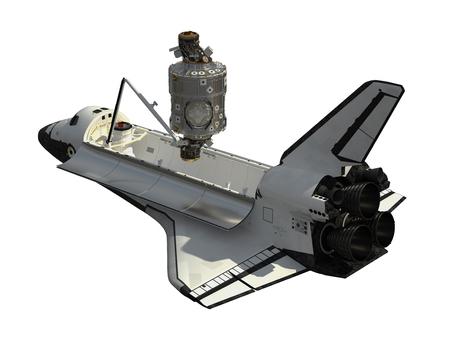 スペースシャトルと国際宇宙ステーションのモジュール