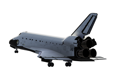Space Shuttle Landing Archivio Fotografico - 80633948