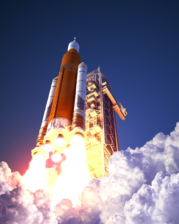 American Space Launch System Takes Off