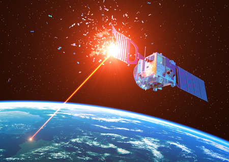 Laser Weapon From Earth Destroys Satellite In Space