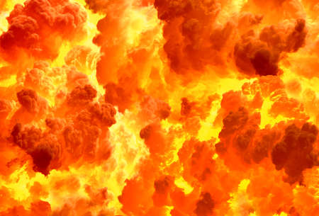 Texture of a fiery explosion