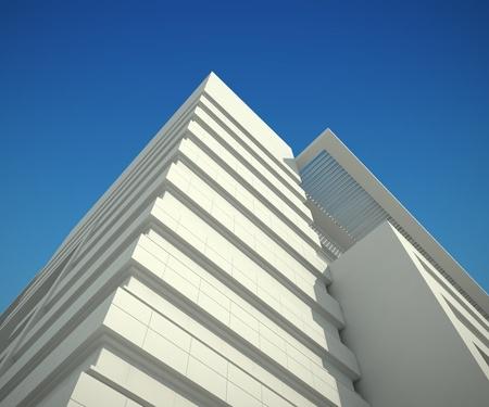 Schematic office building