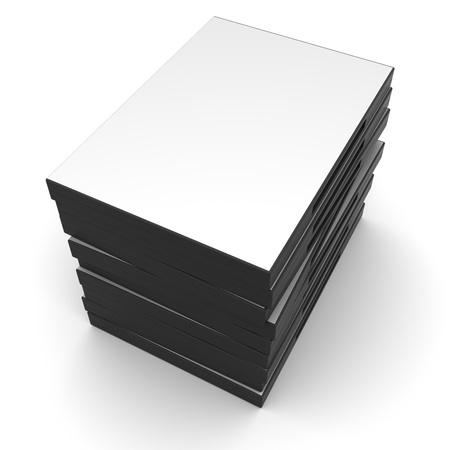 Black DVDCD cases photo