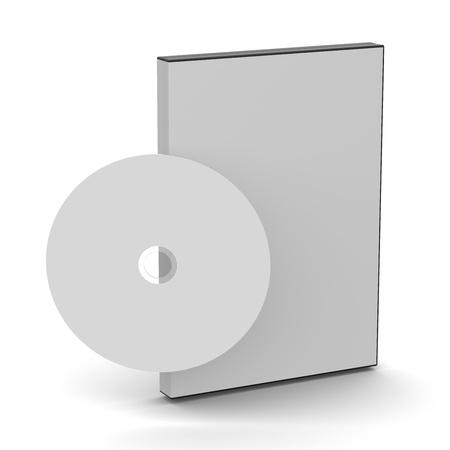 Black DVDCD case Stock Photo