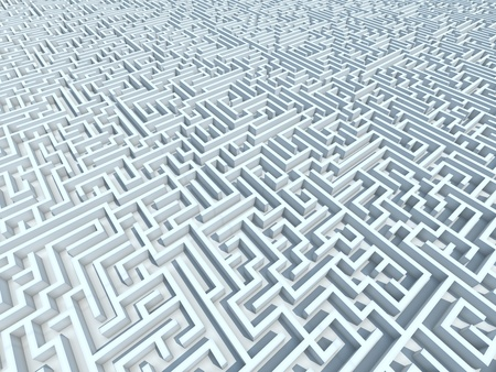 Endless 3D maze