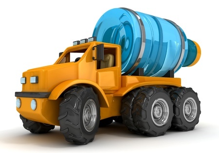The truck for potable water delivery
