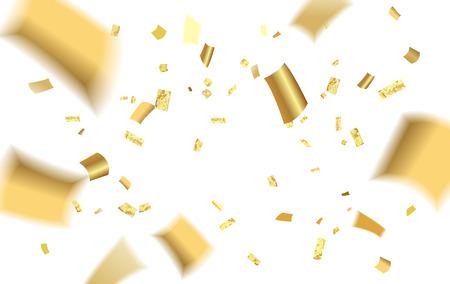 Confetti blur splash Illustration. Stock Illustratie