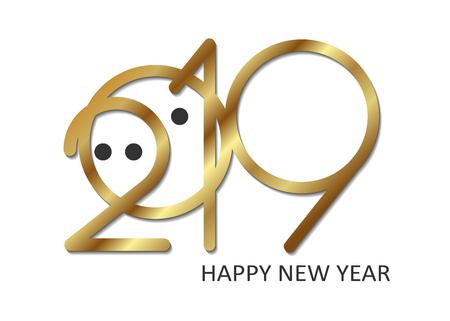 2019 number pig gold