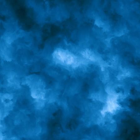 気がめいって、不明瞭な雲の形で構成される抽象的な青い背景。青い色は青色に点灯する暗いから範囲します。 写真素材