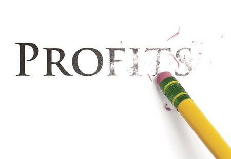 eradicate: Close up of a yellow pencil erasing the word,  Stock Photo