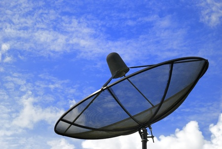 television aerial: The Satellite dish