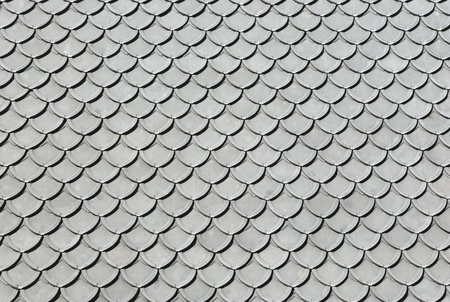pattern of gray roof photo
