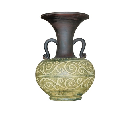 decorative urn: vintage vase