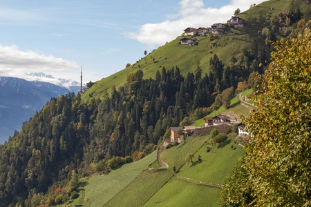 Up on the mountain, Muthoefe, close to Merano