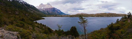 Los Cuernos in torres del paine Stock Photo - 18223227